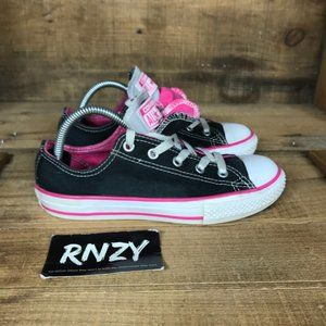 Converse All Star Double Tongue Black Sneakers